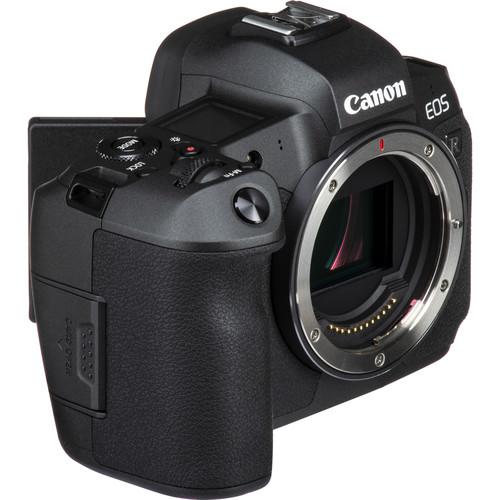 Canon EOS R bocno