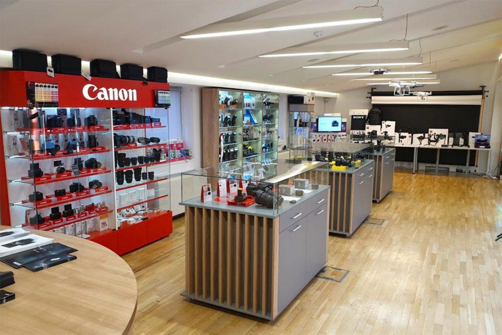Josipovic Foto & Video Showroom Canon objektivi i foto aparati