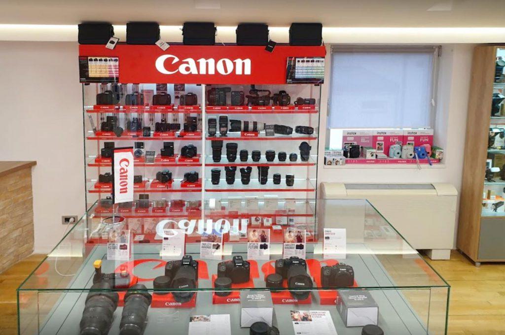 Josipovic Foto & Video Showroom Canon objektivi