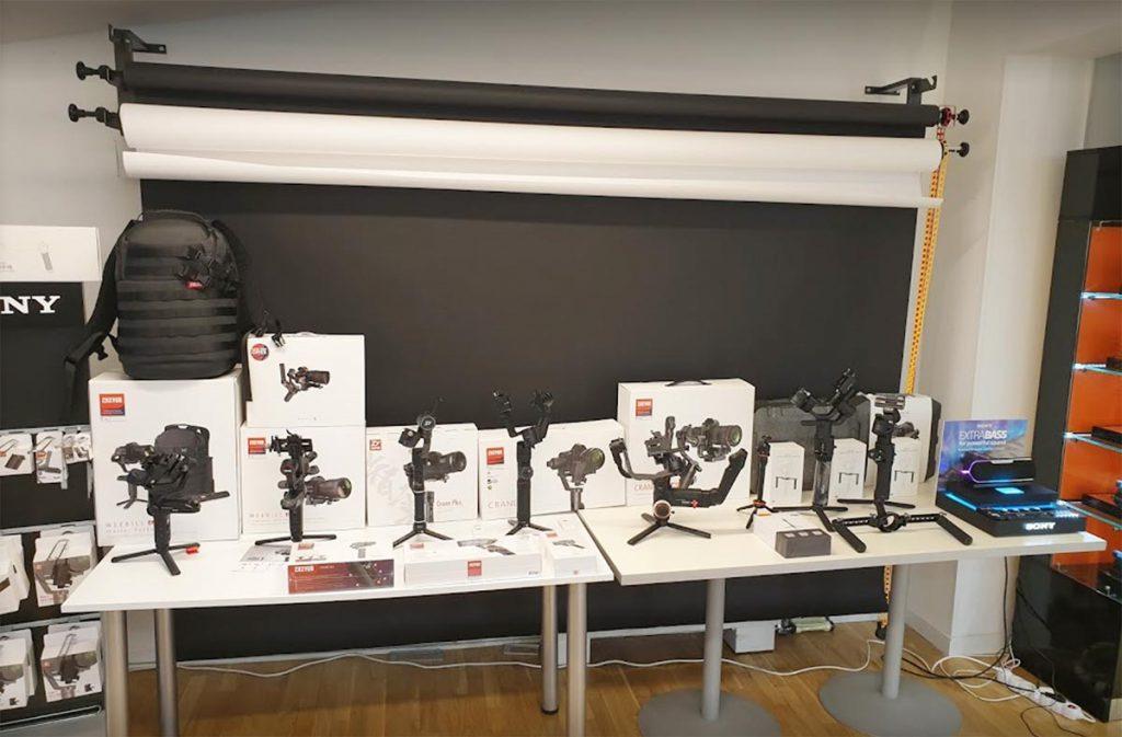 Josipovic Foto & Video Showroom gimbal