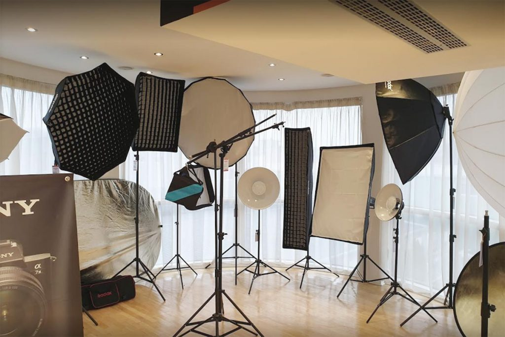 Josipovic Foto & Video Showroom gimbal Studijska rasveta