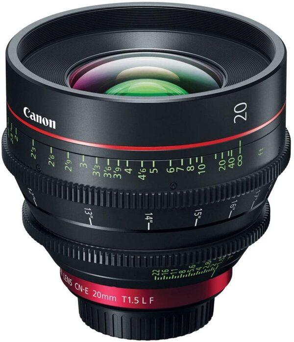 Canon CN E 20mm T1.5 L