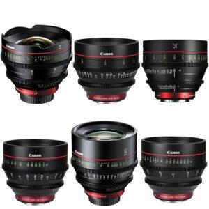 Canon CN E 6 lens kit