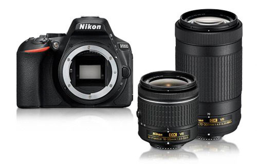 Nikon D5600 18-55 i 70-300