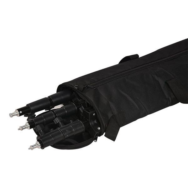 Godox CB-03 torba može da nosi do 3 stativa maximalne duzine 105 cm.
