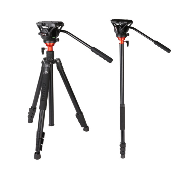 DF Series Aluminium Video tripod kit