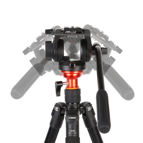 DF Series Aluminium Video tripod kit_5
