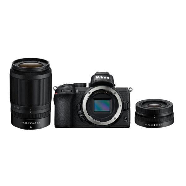 NIKON Z50 16-50mm VR 50-250mm VR