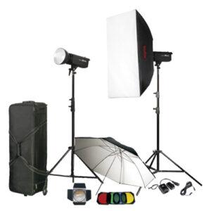 Godox DP-600 II kit rasvete je odlično rešenje za fotografisanje venčanja, portreta, foto-modela, kao i za potrebe komercijalne fotografije