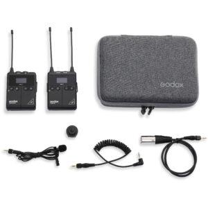 Godox WMicS1 Kit1 je izuzetno kvalitetan i povoljan bežični audio sistem. Godox WmicS1 bubice se sastoje od transmitera i risivera